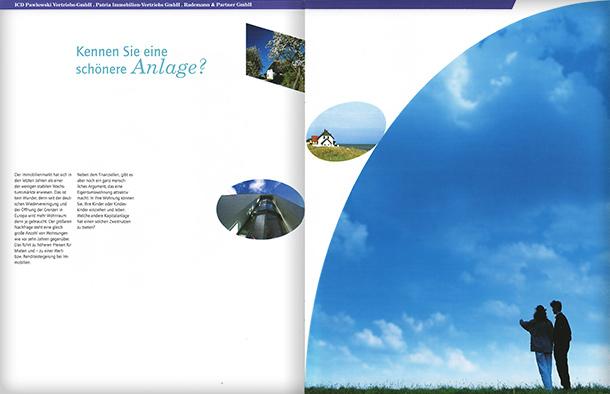 Stima page spread
