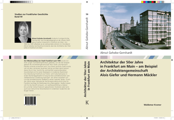 Studie 59 book cover design