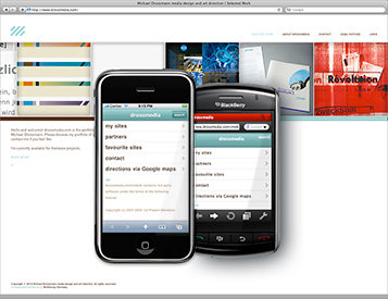 Drossmedia.com on different devices