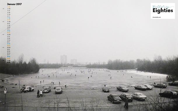 Ice skating, 1984