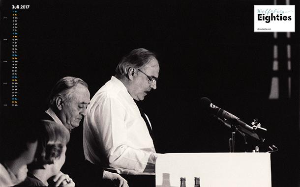 Helmut Kohl, ca.1983