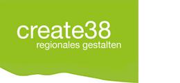 create 38 regionales gestalten, Logo